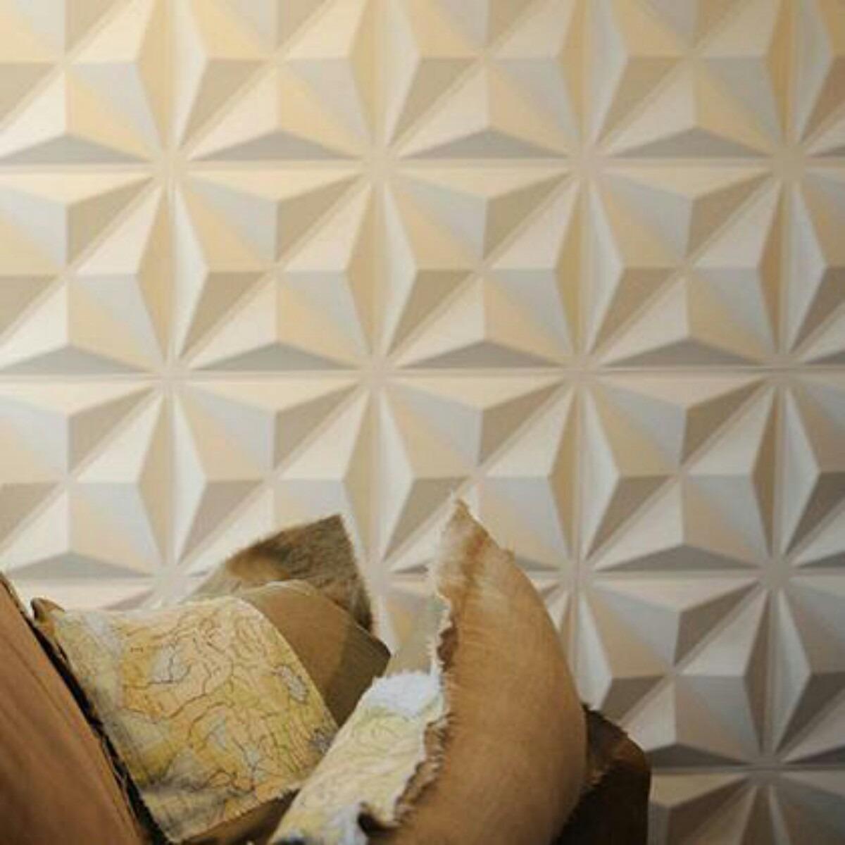 Molde silicone para placas em gesso 3d cullinans 40 r - Placas decorativas para pared interior ...