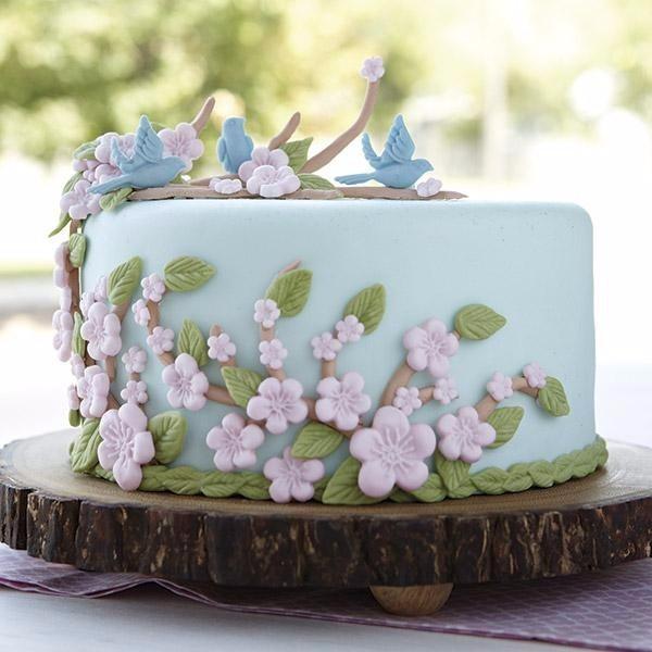 Molde Silicone Pasta Americana Decorar Bolo Cupcake Flores