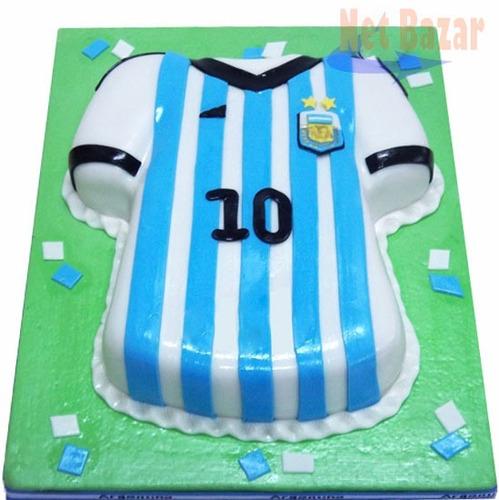 molde torta camiseta escudo futbol deporte tortera boca rive