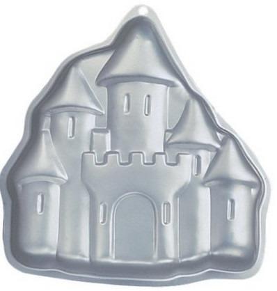 molde torta tortera castillo ó velas 2d wilton nueva