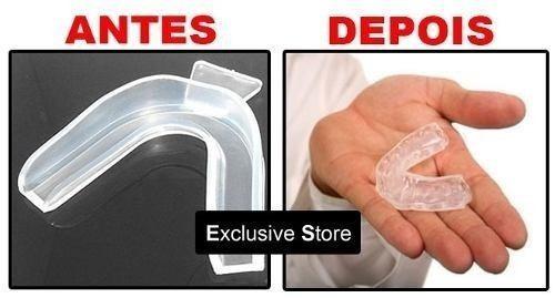Moldeira Termomoldavel Clareamento Dental 1 Par 1 Estojo R 23
