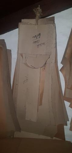moldería de pantalón estilo pampero