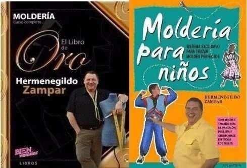libros molderia para ninos zampar