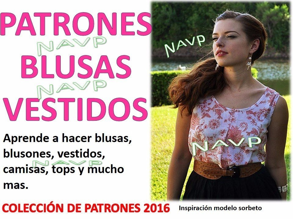 d295a799b Moldes Blusas Camisas Vestidos Para Damas Moldes Costura -   125.00 ...