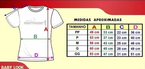 d18e4b708f Moldes Camisetas Femininas (baby Look) - R  15