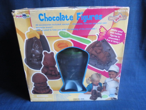 moldes chocolate 4 figuras diferentes...ultima unidad