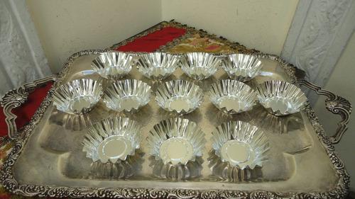 moldes cocina corrugados muffins acero inox nuevos miralos