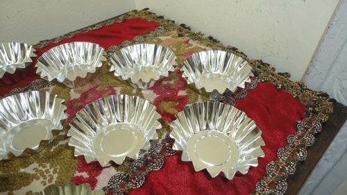 moldes cocina muffins reposteria acero inox nuevos miralos