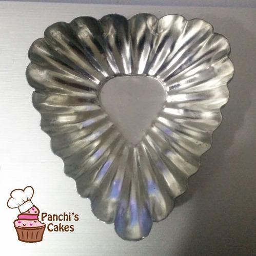 moldes corazones para pasabocas de acero inoxidable 6 piezas