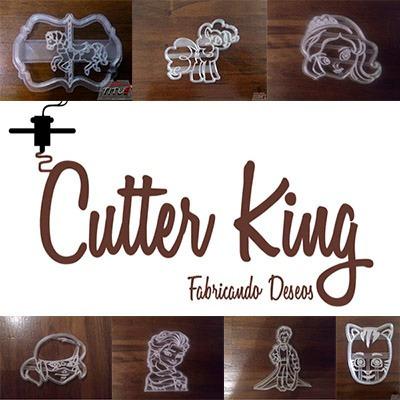 moldes cortantes para galletitas - fondant - porcelana fría