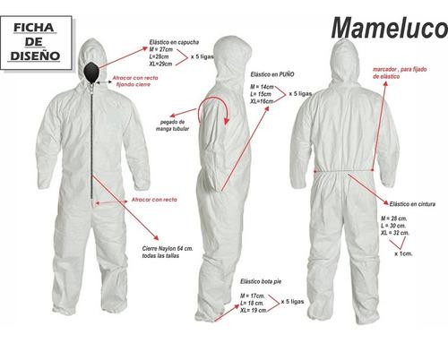 moldes de carton para prendas de proteccion
