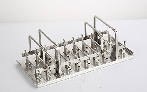moldes de paleta de hielo acero inoxidable 20pz modelo  d