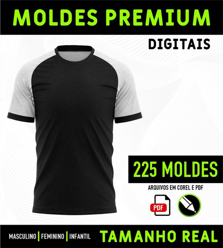 moldes de roupas   + de 500 moldes digitais