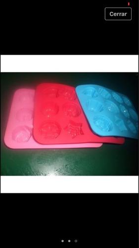 moldes de silicon para chocolates, gelatina para reposteríar