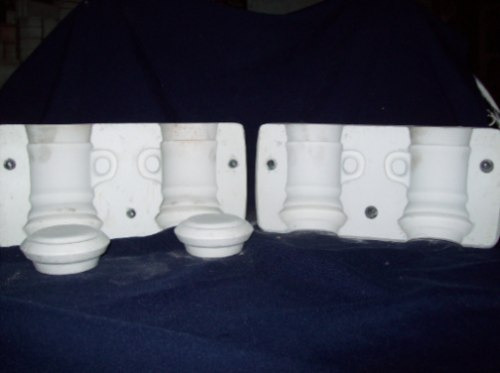 moldes en yeso para ceramica cosida.
