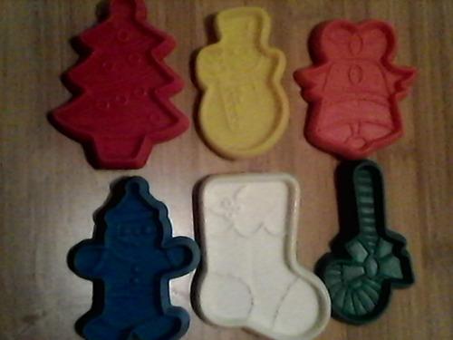 moldes figura navidad de plastico