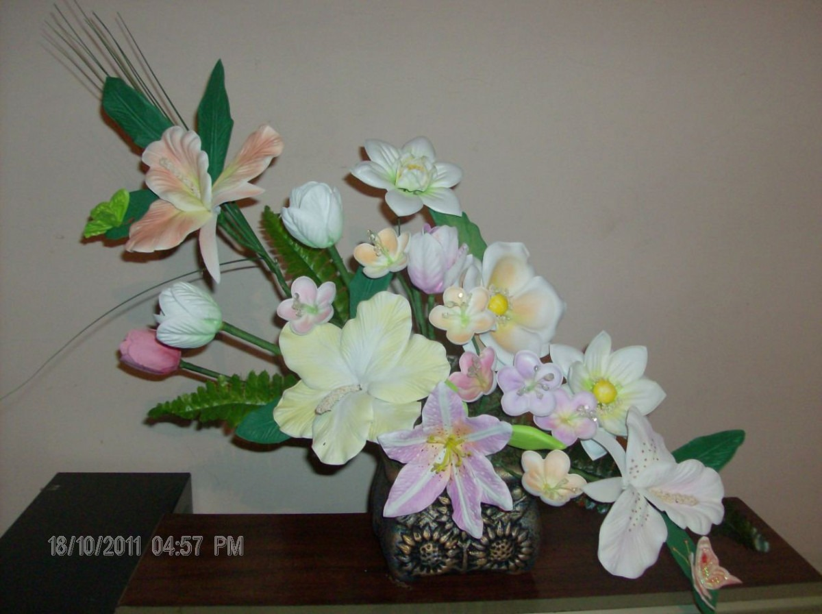 Moldes Flores De Fomi Fomy Foamy 750 00 En Mercado Libre