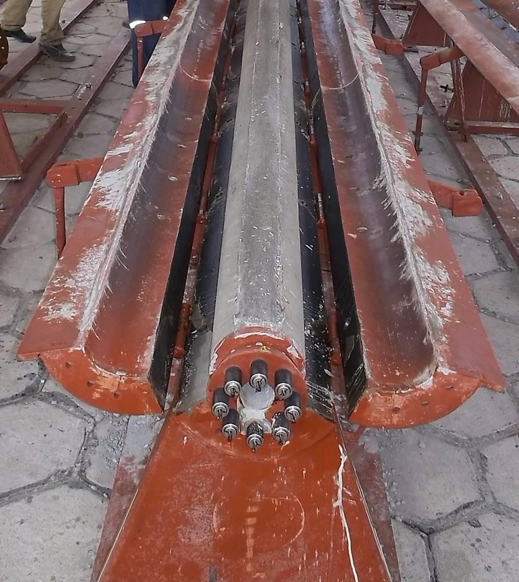 Moldes formaletas para postes de concreto en - Moldes de cemento ...