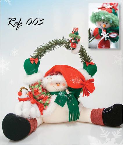 moldes o patrones para elaborar hermosos muñecos de navidad
