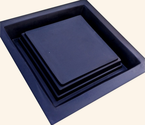 moldes para camaras de hormigon 20x20= 2500pesos