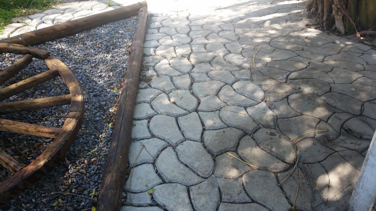 Moldes para cemento vereda exteriores en - Moldes de cemento ...