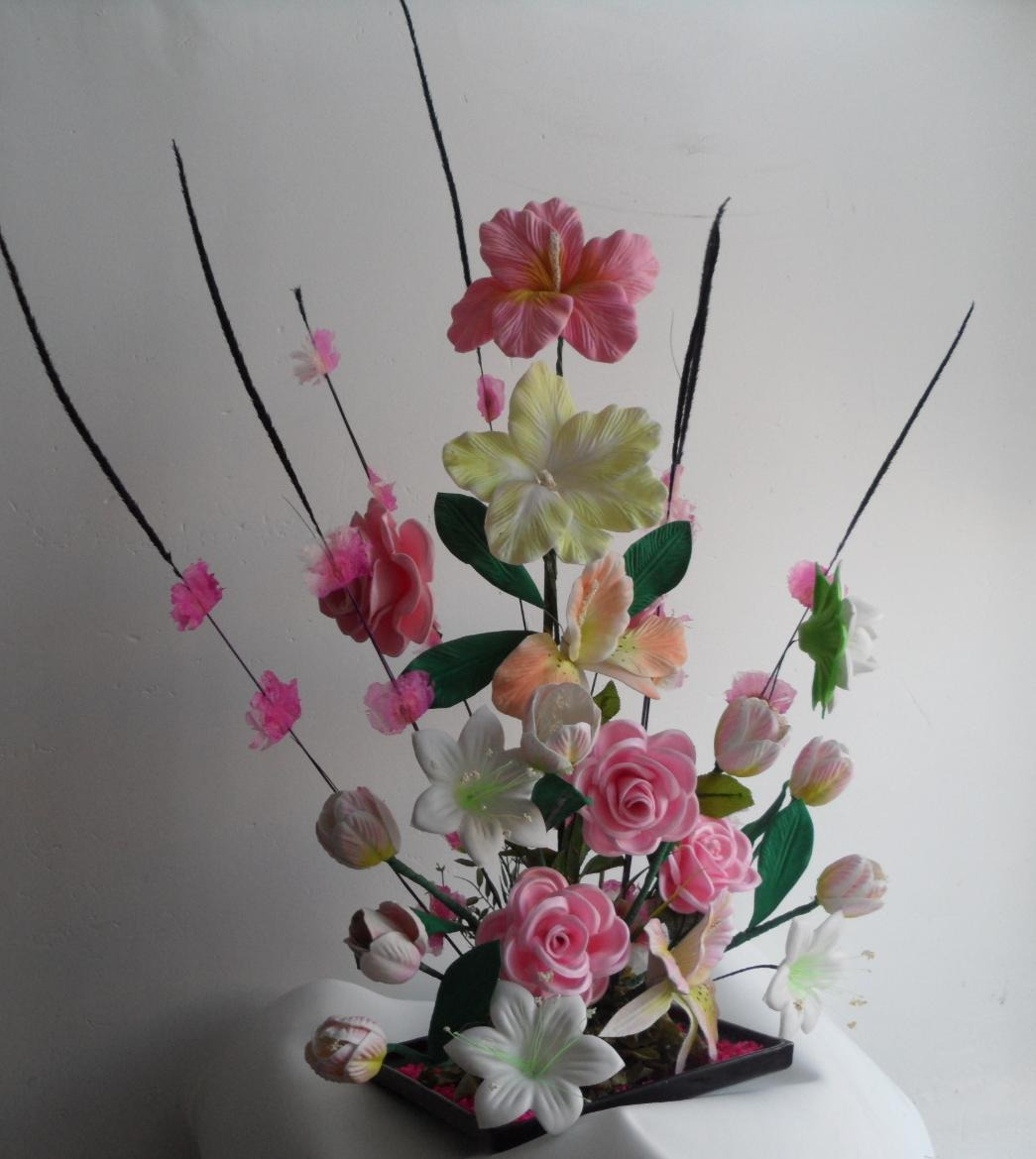 Moldes Para Hacer Flores Fomi Fomy Foamy