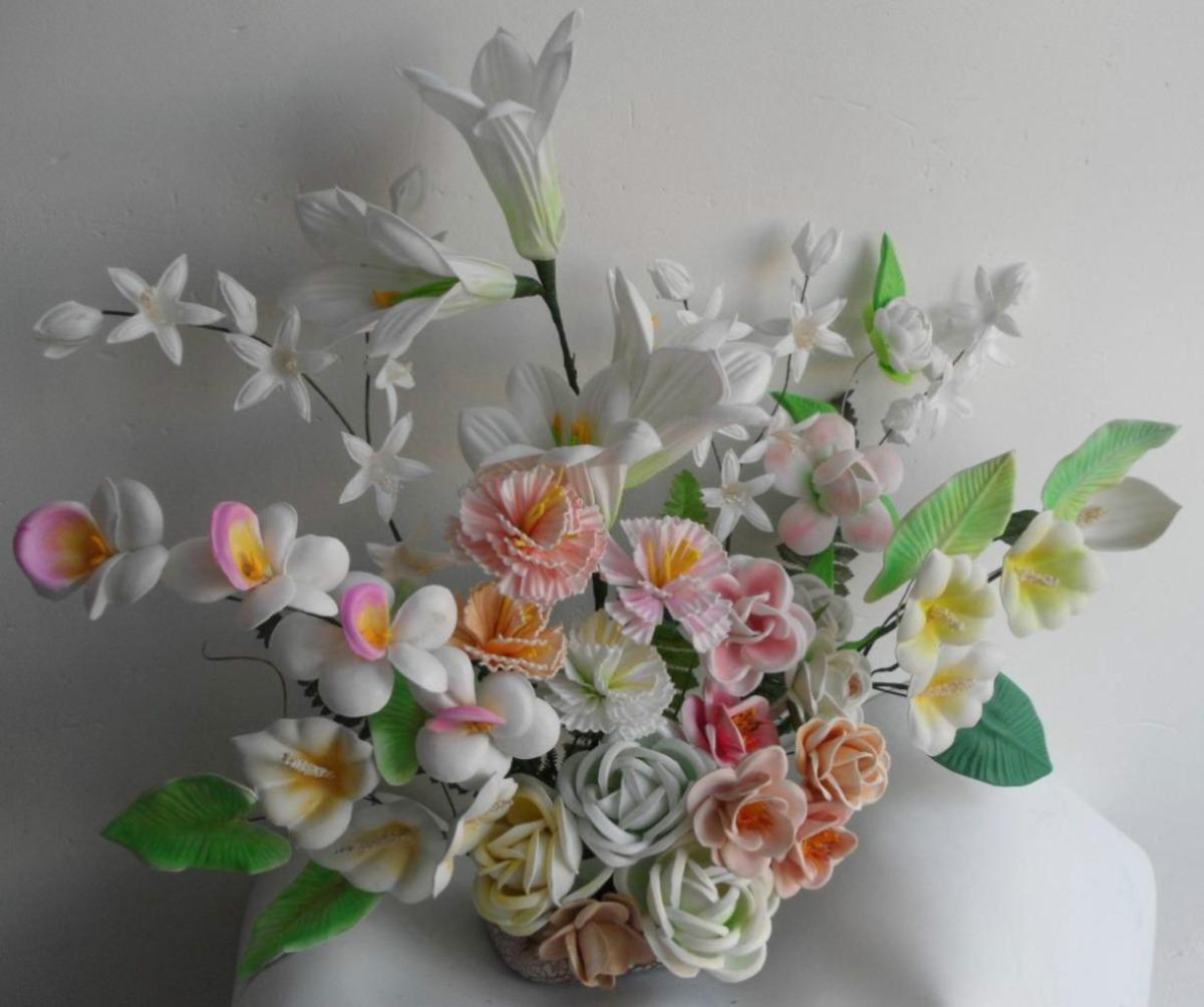 Moldes Para Hacer Flores Fomi Fomy Foamy Envio Gratis