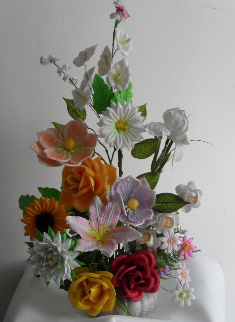 Moldes para hacer flores fomi fomy foamy envio gratis for Buscar decoraciones
