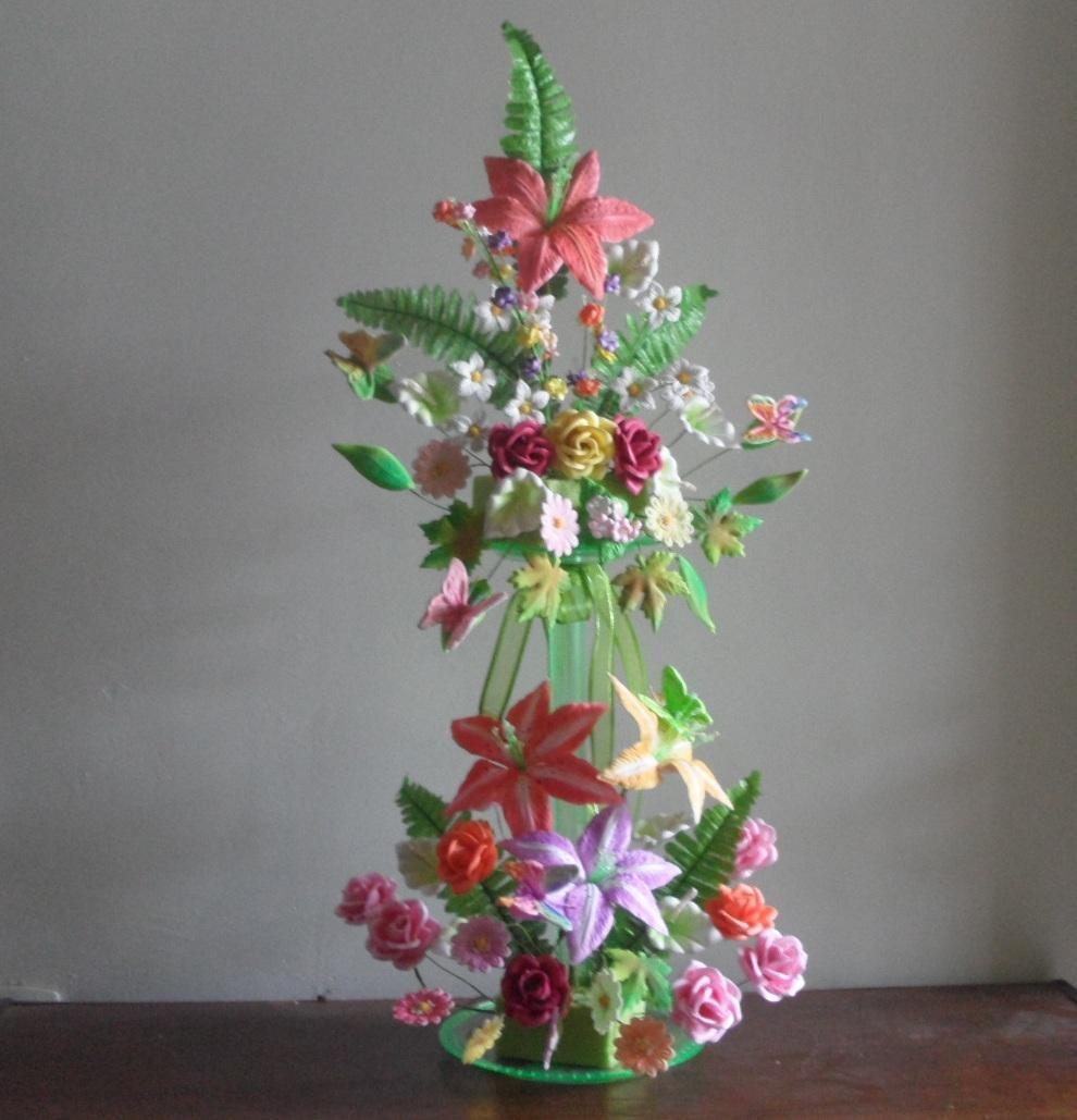 Moldes Para Hacer Flores Y Figuras De Fomi Fomy Foamy 118 00