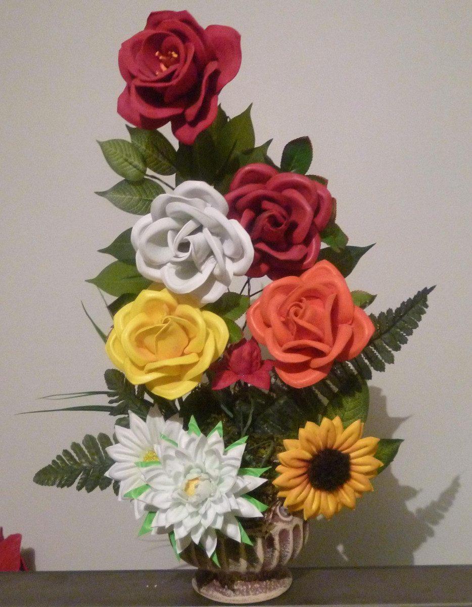 Flores De Fomi Sin Moldes Paso A Paso