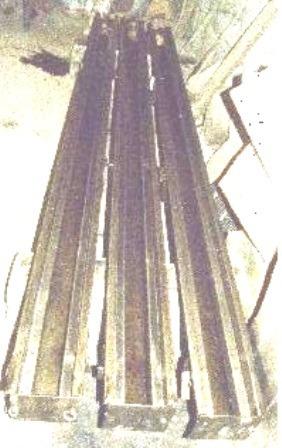 moldes para postes de tapial tipo h