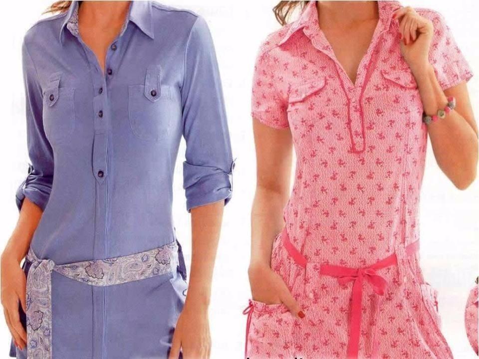 Moldes de vestidos para mujer