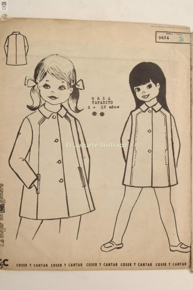 Moldes Patrones Infantiles Moda Circa 1955 Antigua Costura - $ 83,49 ...