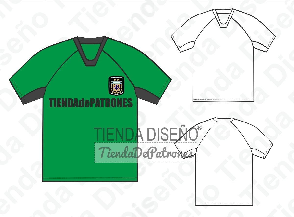 08e3c097d319e moldes patrones remera camiseta futbol hombre talle s al 2xl. Cargando zoom.