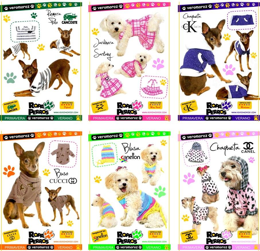 Moldes Patrones Ropa+disfraces+camas+sillones Para Perros - $ 79,99 ...