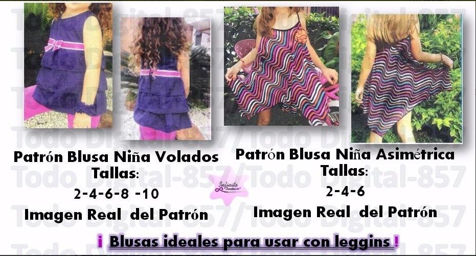 7ec45cc51 Moldes Patrones Ropa Niñas-bebes Blusas,vestidos Falda Moda