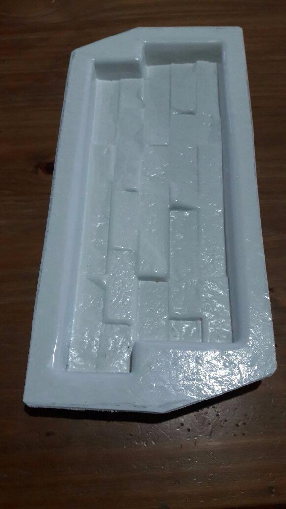 Moldes plasticos para fabricar piedra artificial o yeso 400 00 en mercado libre - Moldes piedra artificial ...