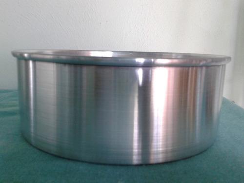 moldes redondos tortas 36 cms. de diámetro x 8 cms. de alto