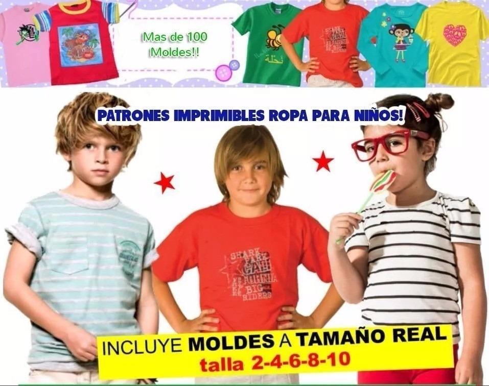 c2bbd91c7 Patrones Moldes Imprimibles Ropa Para Niños De 2 A 12 Años -   77