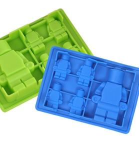 Muñecos De Lego Pasta Chocolate Moldes Goma Silicona 54qcR3ALj