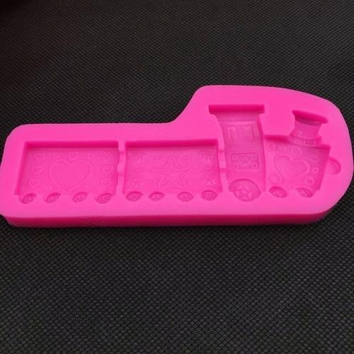 moldes silicona no caucho trencito importados