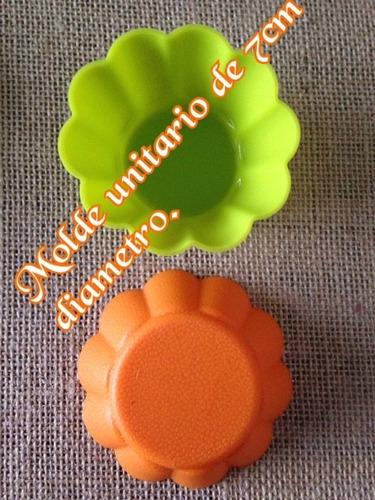 moldes silicona para jabones, cupcakes, etc