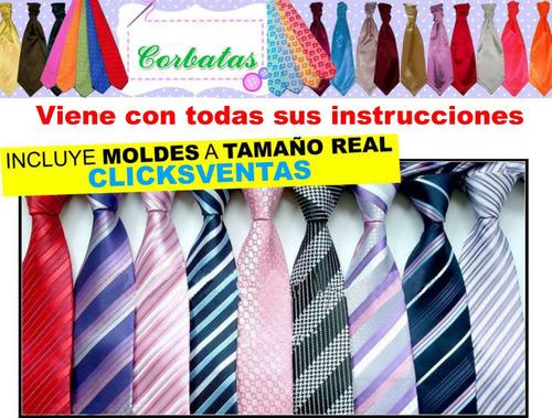 moldes y patrones para fabricar camisas, franelas y corbatas