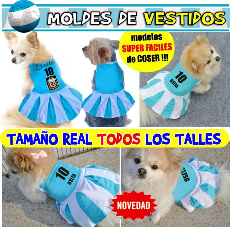 Moldes Y Patrones Ropa Deportiva Perros Mundial Argentina - $ 59,99 ...
