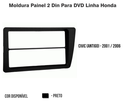 moldura 1 din 2 din civic 2001 2002 2003 2004 2005 2006