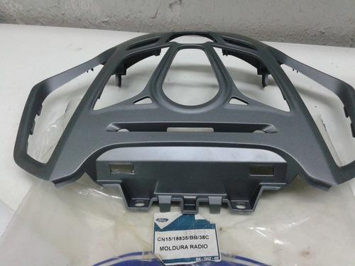 moldura acabamento central painel  comando ford ecosport 13/