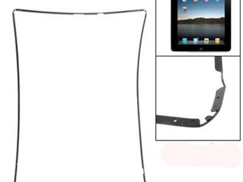 moldura aro middle frame ipad 2 3 com adesivo preta