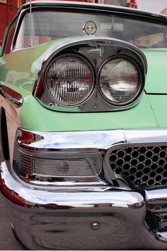 moldura base de faros para ford fairlane 1958-59