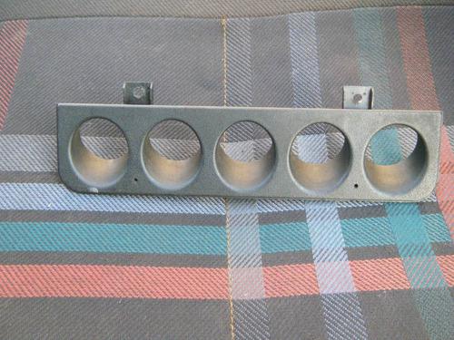 moldura botões painel central peugeot 205