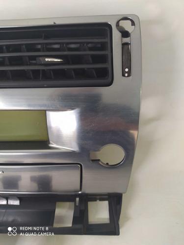 moldura central comp de bordo c4 hatch 2011 com botões